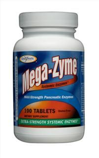 Mega-Zyme (100 tabs) Enzymatic Therapy