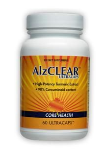 AlzCLEAR Turmeric Extract (60 Ultracaps) Enzymatic Therapy