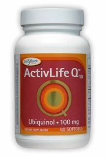 ActivLife Q10 Ubiquinol (100 mg 60 softgels) Enzymatic Therapy