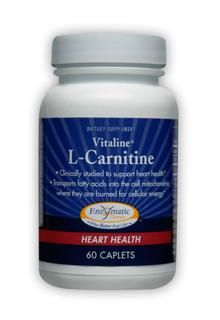 L-Carnitine Vitaline (60 caps) Enzymatic Therapy
