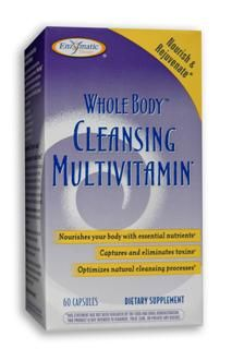 Whole Body Cleansing Multivitamin (60 caps) Enzymatic Therapy