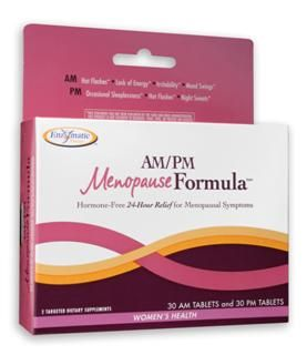 AM-PM Menopause Formula (60 tabs) Enzymatic Therapy