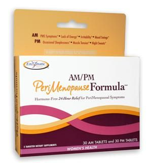 AM-PM PeriMenopause Formula (60 tabs) Enzymatic Therapy