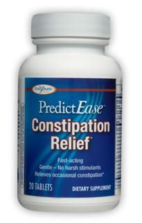 PredictEase Constipation Relief (20 tabs) Enzymatic Therapy