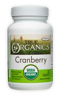 True Organics Cranberry (30 tabs) Enzymatic Therapy