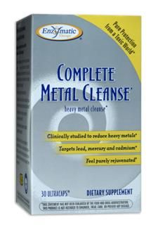 Complete Metal Cleanse (30 Ultracaps) Enzymatic Therapy