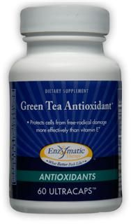 Antioxidant Green Tea (60 Ultracaps) Enzymatic Therapy