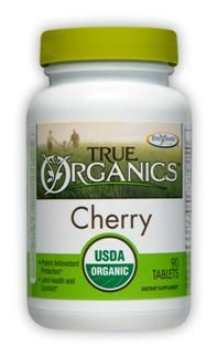 True Organics Cherry (90 tabs) Enzymatic Therapy