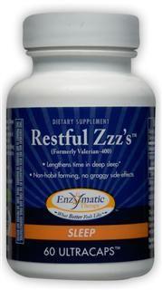 Restful Zzz's (60 Ultracaps) Enzymatic Therapy
