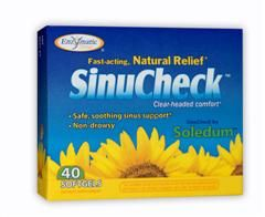 SinuCheck (40 softgels) Enzymatic Therapy