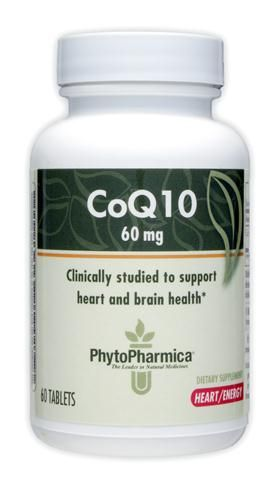 PhytoPharmica CoQ10 60mg (60 tabs) Enzymatic Therapy