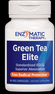 Green Tea Elite with EGCG (60 veg caps) Enzymatic Therapy