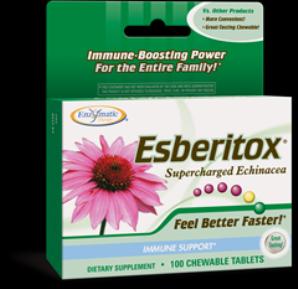 Esberitox (100 chew tabs) Enzymatic Therapy