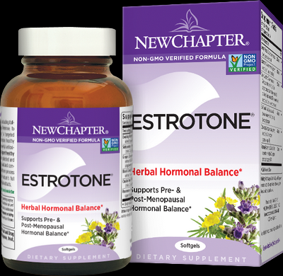 Estrotone (120 softgels)* New Chapter Nutrition