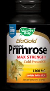 EfaGold Evening Primrose Cold Pressed 1300 mg  ( 60 softgel ) Nature's Way