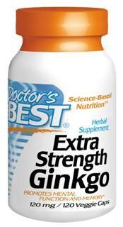 Extra Strength Ginkgo (120 mg)