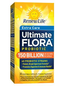 Extra Care Ultimate Probiotic 150 Billion (30 Vegetable caps)* Renew Life