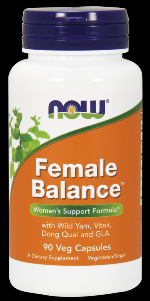 Female Balance (90 caps) NOW Foods