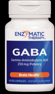 GABA (60 Veg caps) Enzymatic Therapy
