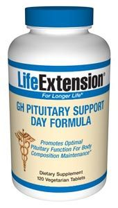 GH Pituitary Support Day Formula (120 tablets) * Life Extension