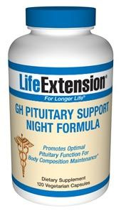 GH Pituitary Support Night Formula (120 tablets) * Life Extension