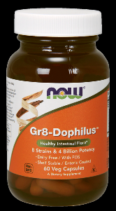 Gr8 Dophilus (60 Veg Caps) NOW Foods