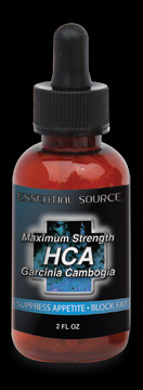 Maximum Strength HCA Garcinia Cambogia (350 mg 2 oz) Essential Source
