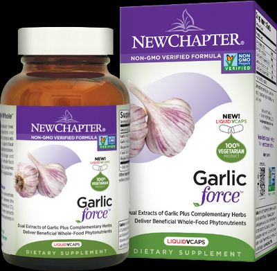 Garlicforce (30 liquid vcaps)* New Chapter Nutrition