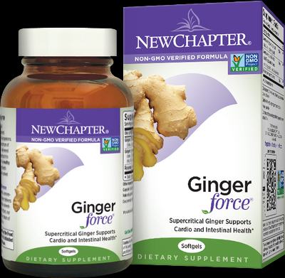 Ginger Force (60 liquid vcaps)* New Chapter Nutrition