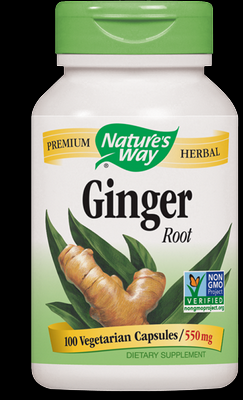 Ginger Root (100 caps) Nature's Way