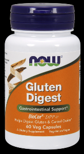 Gluten Digest Enzymes (60 Veg Caps) NOW Foods
