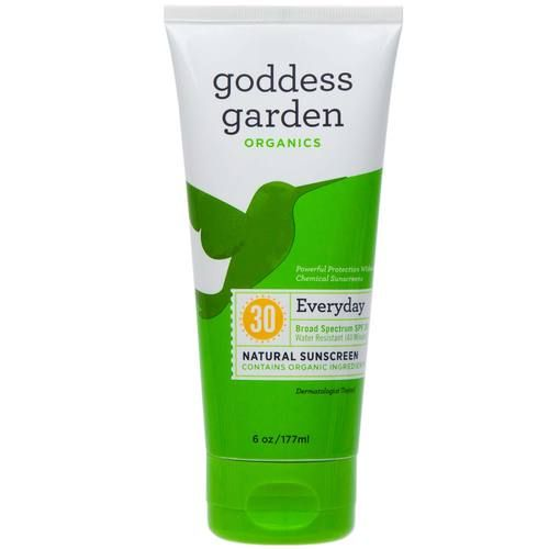 Everyday Natural Sunscreen SPF 30 6oz* Goddess Garden Organics