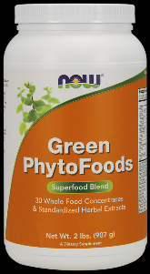 Green Phytofoods Powder (2 lb) NOW Foods