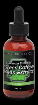 Maximum Strength Green Coffee Bean Extract (350 mg 2 oz) Essential Source