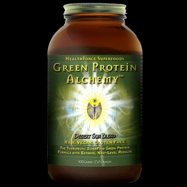 Green Protein Alchemy - Desert Sun (500 gr)* HealthForce Nutritionals