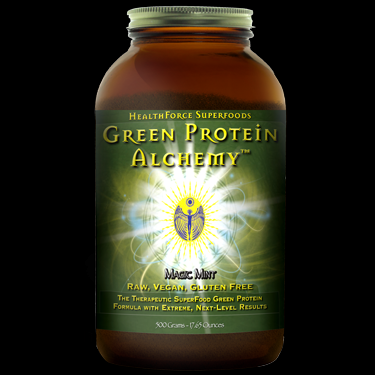 Green Protein Alchemy - Magic Mint (500 gr)* HealthForce Nutritionals