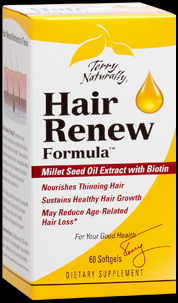 Hair Renew Formula 60 softgels Terry Naturally