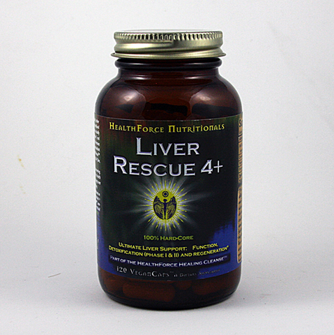 Liver Rescue (120 Vegan Caps) HealthForce Nutritionals