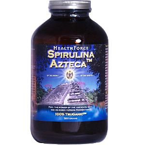Spirulina Azteca Powder (500 gr)* HealthForce Nutritionals