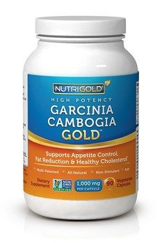 Garcinia Cambogia Gold High Potency (1000 mg 90 v-caps)* NutriGold