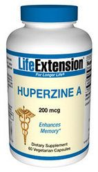 Huperzine A (60 vcaps) Life Extension