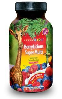 BerryLicious Super Multi (30 Soft Chews) Irwin Naturals