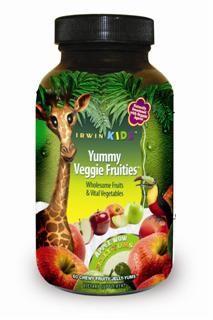 Yummy Veggie Fruities (60 Jelly Yums) Irwin Naturals