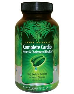 Complete Cardio Heart & Cholesterol Health (84 softgels) Irwin Naturals