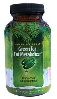 Green Tea Fat Metabolizer  (75 softgels) Irwin Naturals
