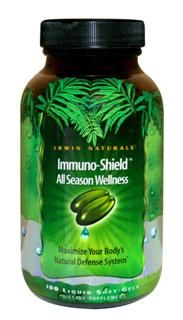 Immuno-Shield (100 softgels) Irwin Naturals