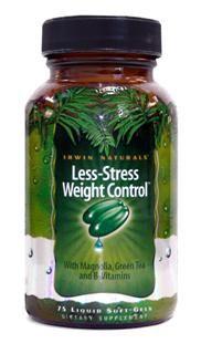 Less Stress Weight Control  (75 softgels) Irwin Naturals