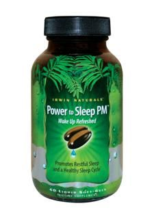 Power to Sleep PM (60 softgels) Irwin Naturals