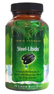 Steel Libido  (75 softgels)* Irwin Naturals