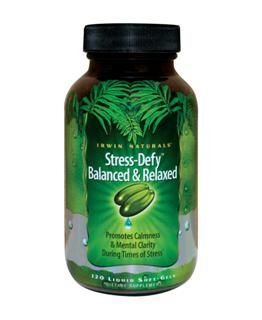 Stress-Defy Balanced & Relaxed (84 softgels) Irwin Naturals